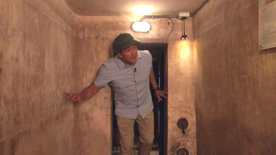 Inside the secret Vietnam War bomb shelter found in oldest Hanoi hotel