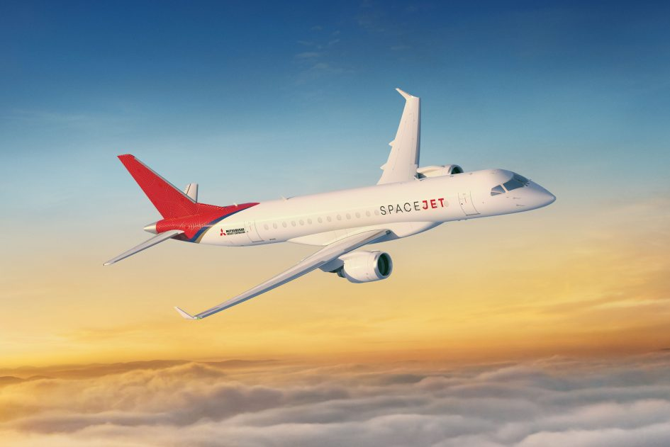 Mitsubishi expects more comfortable regional flights on new 'SpaceJet'