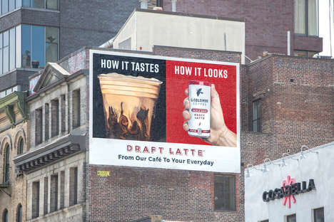 Mouthwatering Coffee Campaigns : coffee billboard