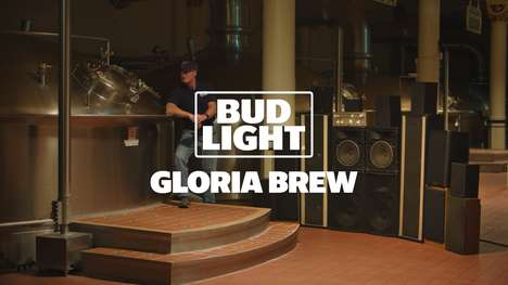 Music-Infused American Lagers : gloria brew