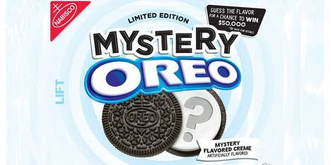Mysterious Sandwich Cookie Flavors : Mystery Oreos
