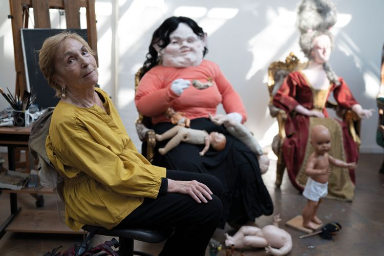 Paula Rego: 'retire? and do what? eat ice cream?'