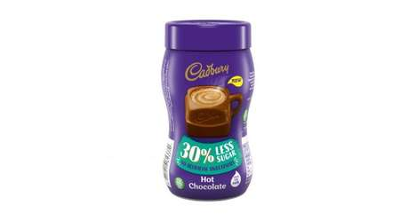 Reduced Sugar Chocolate Drinks : Cadbury Hot Chocolate
