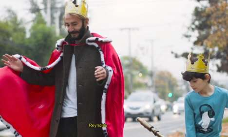 Royal Burger Delivery Stunts : free whoppers