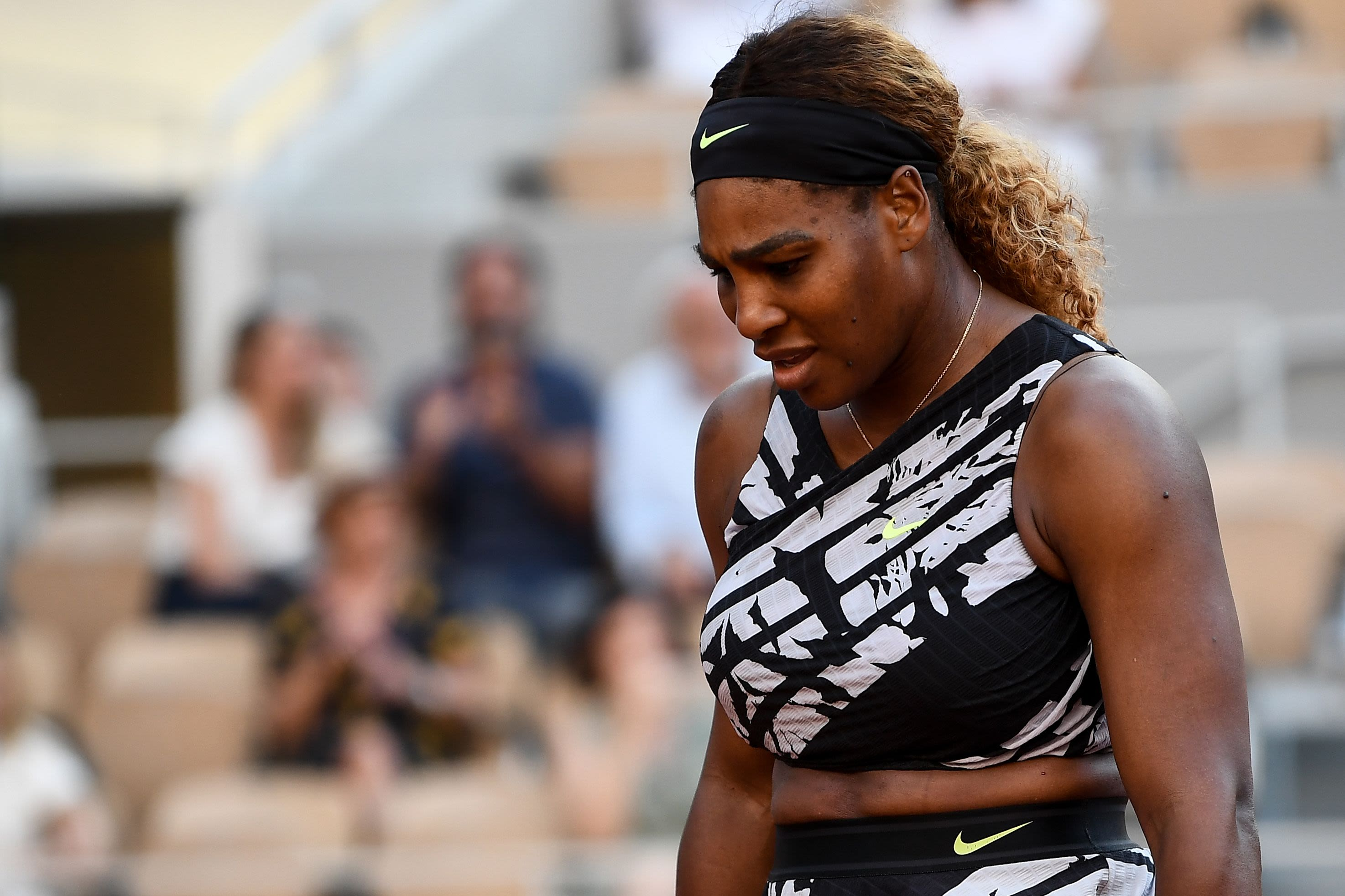 Serena Williams eliminated from French Open, loses quest for 24th Grand Slam title