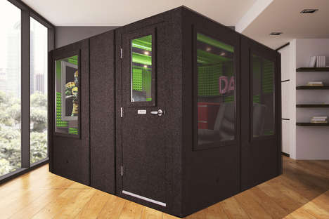 Soundproof Isolation Pods : father's day man cave