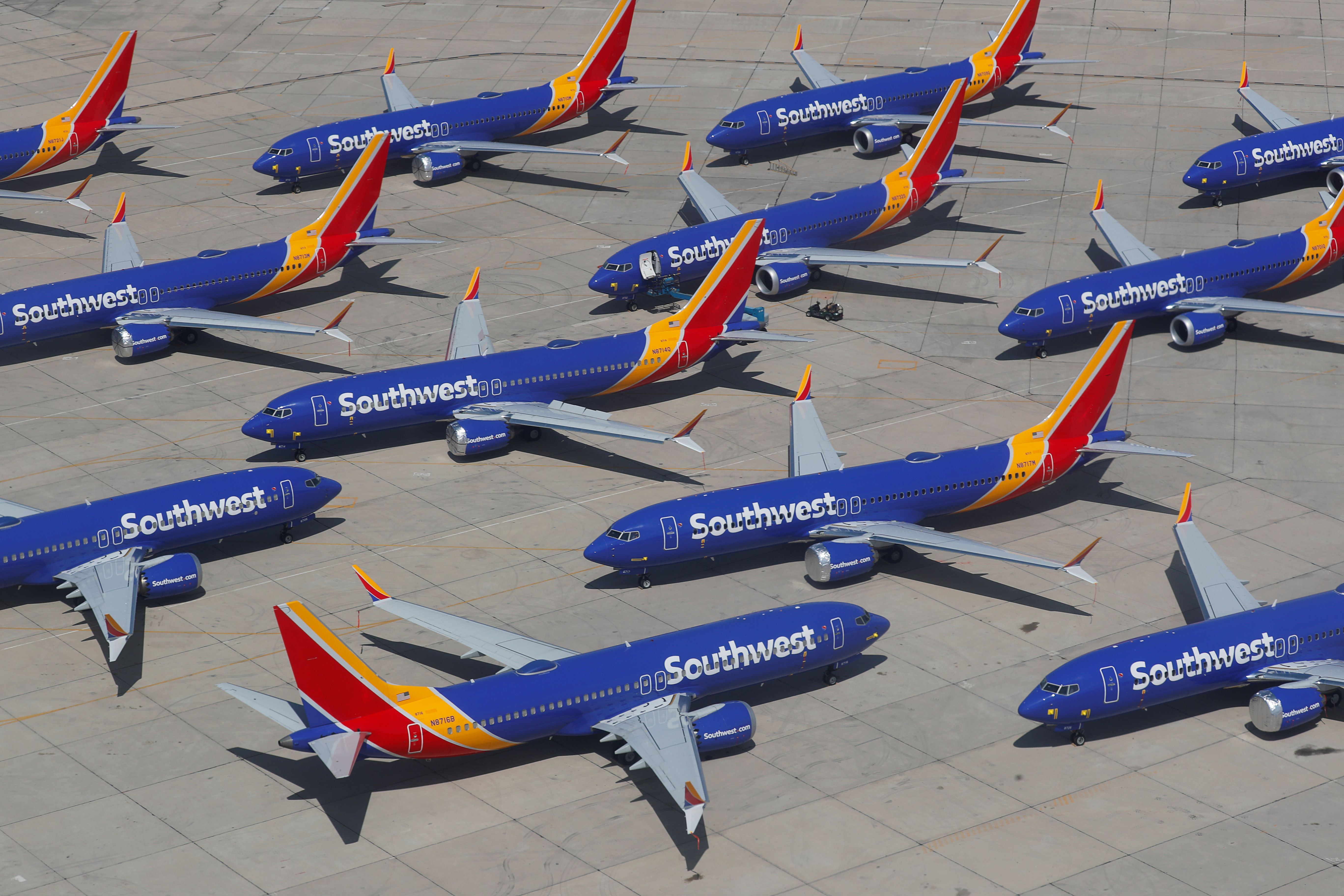 Southwest Airlines extends Boeing 737 Max cancellations to September 2