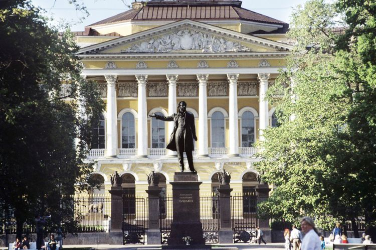 State Russian Museum refurbishment cancelled amid protests
