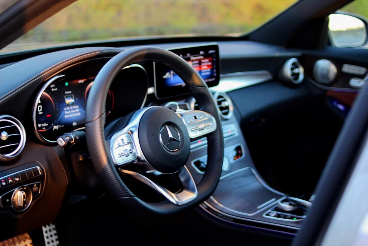 The Mercedes C300 is smarter and more luxurious than anything in its price class