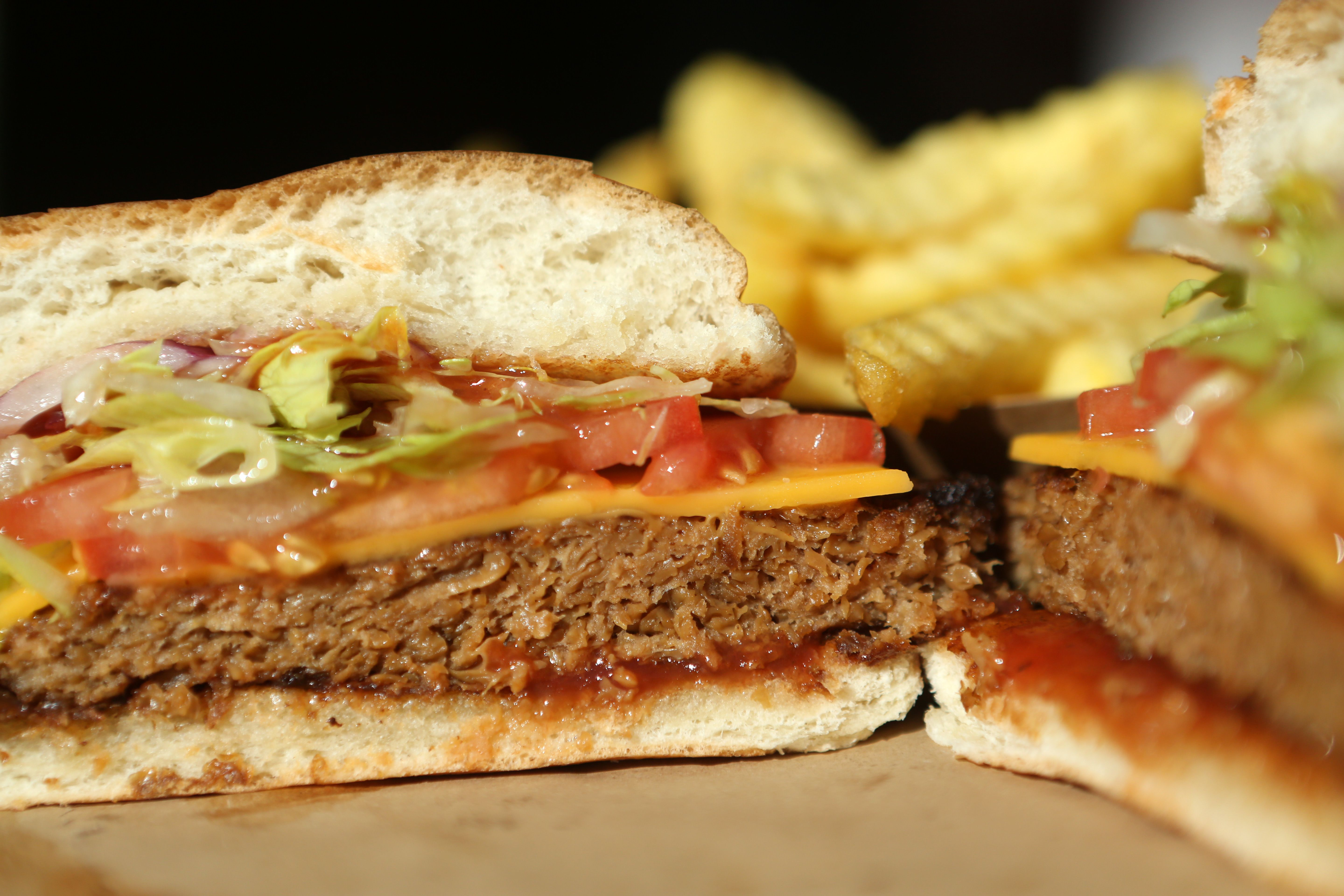 Vegan meats are invading fast food, but McDonald's is on the sidelines