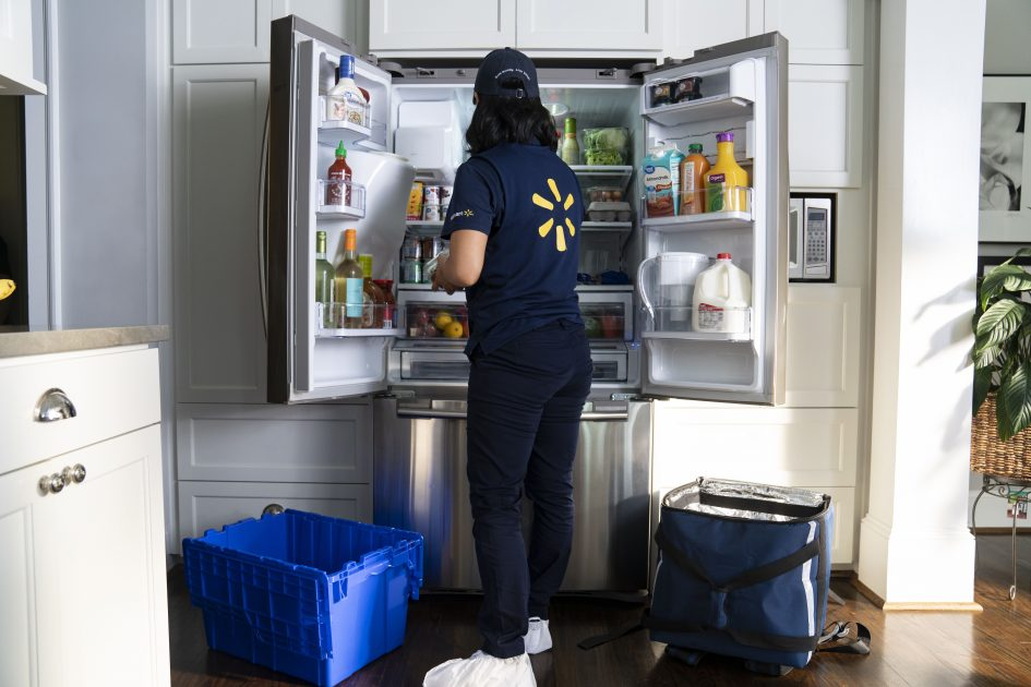 Walmart is going to start delivering groceries inside shoppers' homes