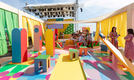 Whimsically Colorful Playground Designs : colorful playground