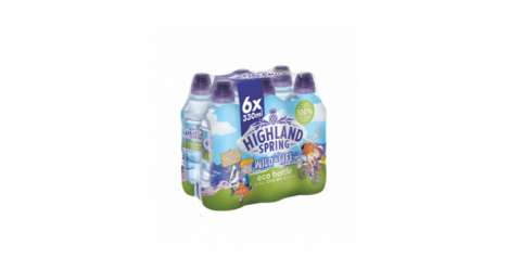 Youth-Focused Bottled Waters : Highland Spring Wild-Life