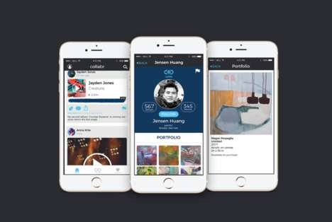 Artist-Centric Social Apps : Collabr