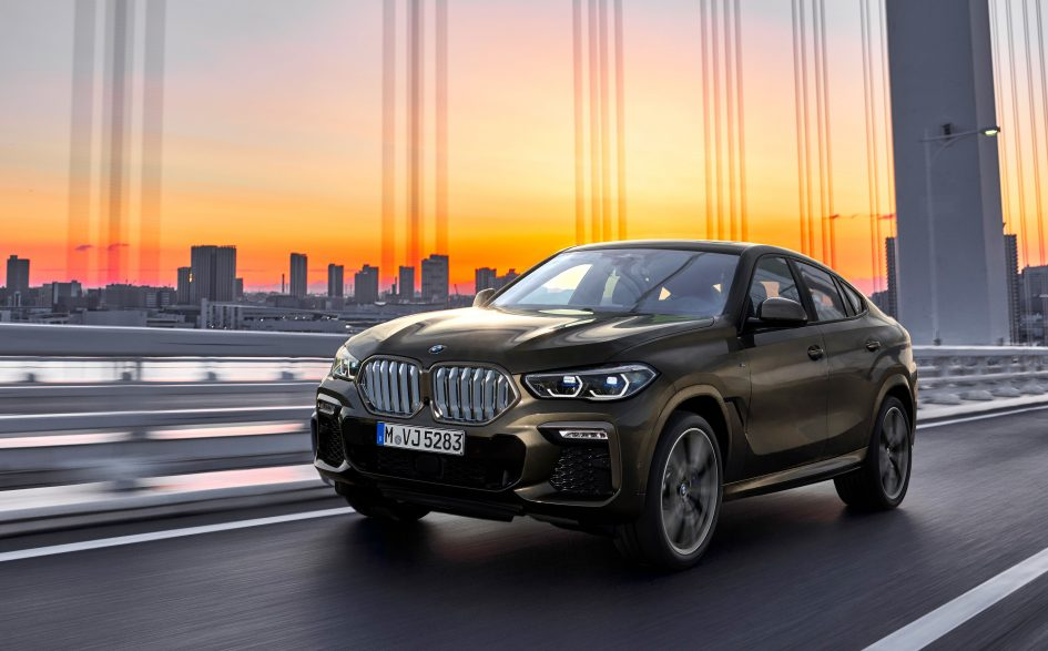 BMW gives its trendsetting 2020 X6 crossover a major makeover in redesign