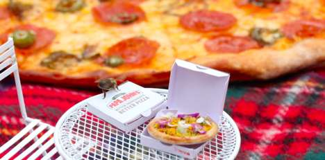 Bee-Sized Pizzas : beezza