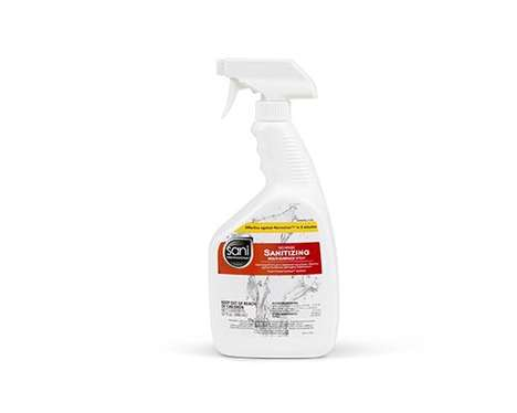 Bleach-Free Foodservice Cleaning Products : Sani Professional All-in-One Spray