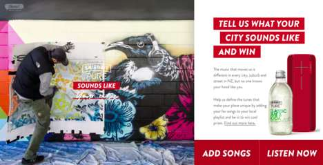Branded City-Inspired Playlists : Pure Sounds Like