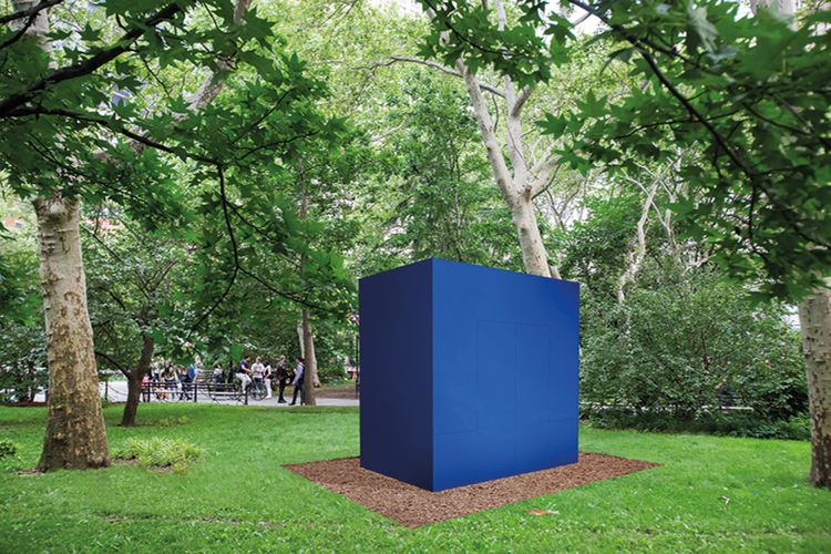 Carmen Herrera's dream project to bloom in New York's City Hall Park
