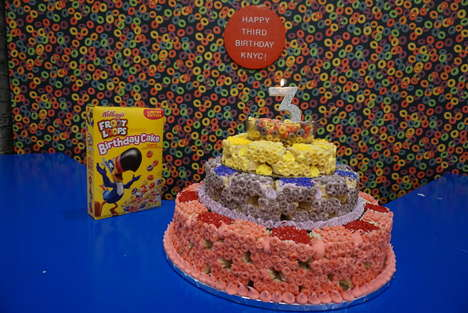 Celebratory Cereal Cakes : Cereal Cake