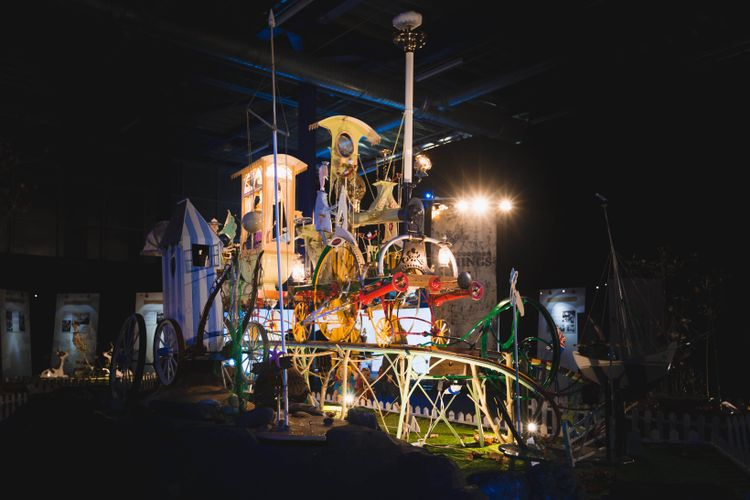 Chitty Chitty Bang Bang designer's giant machine sculptures up for auction
