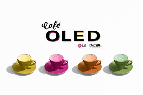Color-Centric Cafes : cafe oled