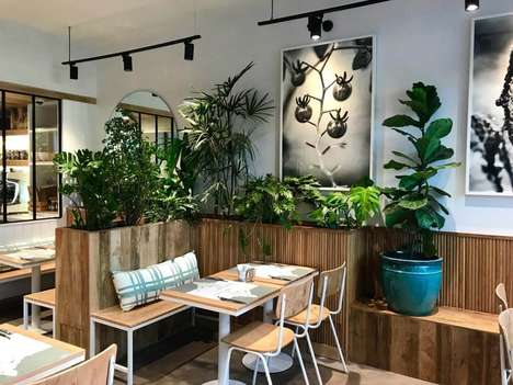 Contemporary Organic Restaurants : Kitchen Garden Restaurant