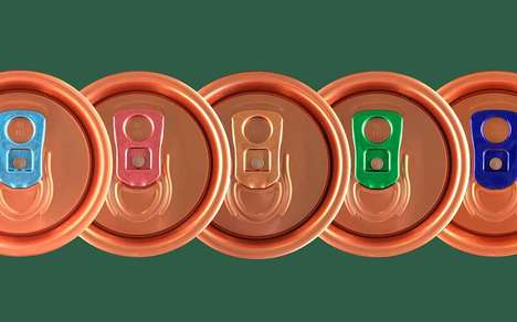 Copper-Colored Can Finishes : aluminum can packaging
