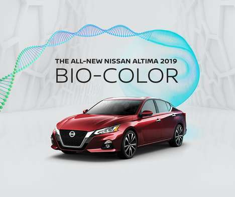 DNA-Determined Car Colors : Nissan Altima Bio Color