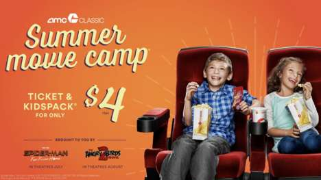 Discount Kids Movie Promotions : Summer Movie Camp