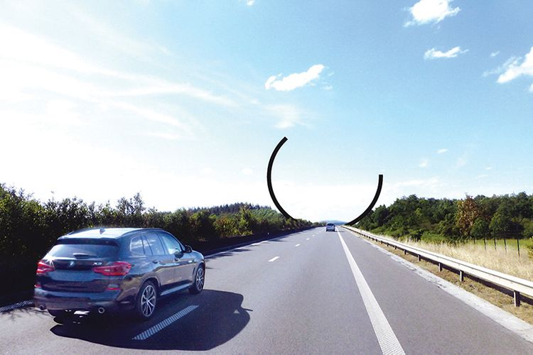 Europe's largest public work of art to be unveiled on Belgian motorway in October