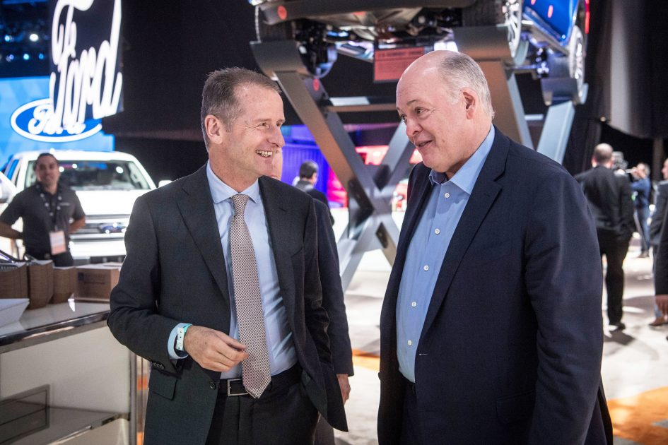 Ford, VW to announce deal to invest billions in autonomous and electric vehicles