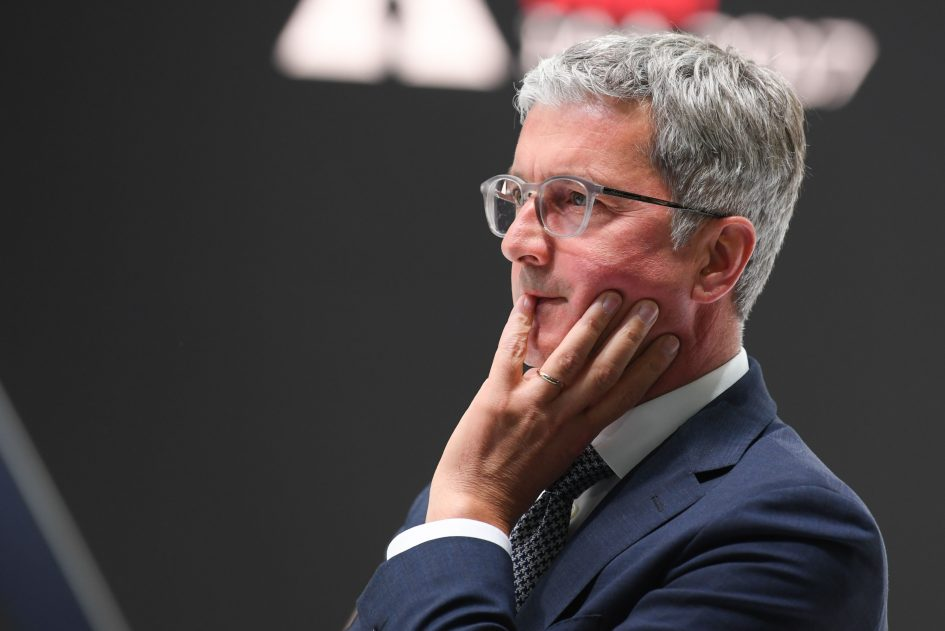 Former Audi boss charged in the VW diesel scandal that won't die