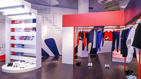 Heritage-Themed Fashion Pop-Ups : FILA Pop-Up
