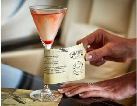 In-Flight Mixologist Cocktails : Chocks Away