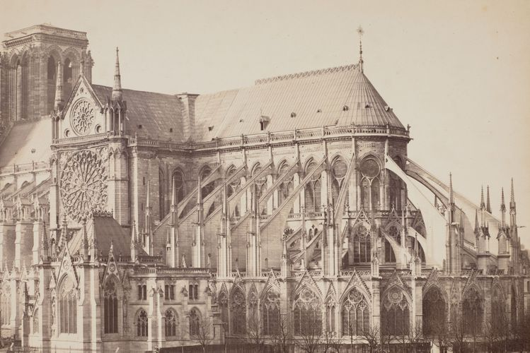 In Pictures: Notre Dame's last 200 years captured in photographs