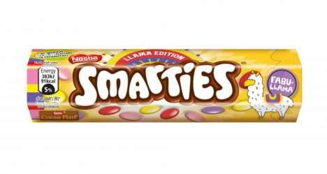 Llama-Branded Chocolate Candies : Llama Edition Smarties