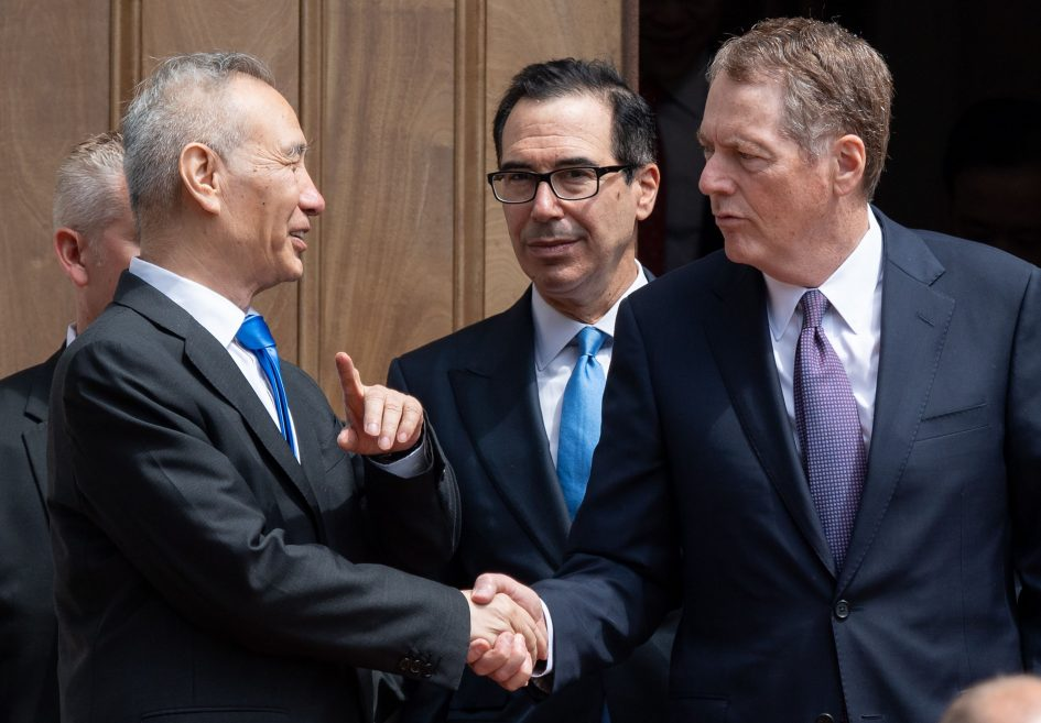 Mnuchin, Lighthizer speak to Liu He