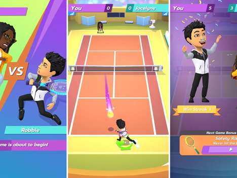 Mobile-First Tennis Games : Bitmoji Tennis