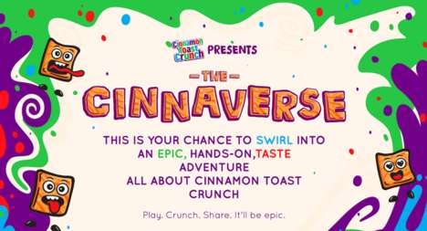 Multi-Sensory Cereal Activations : Cinnaverse Experience