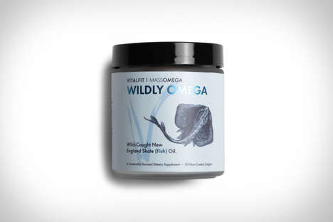 Non-Industrialized Oil Supplements : VitalFit Wildly Omega