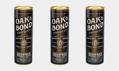 Oak & Bond Bourbon Barrel Aged Coffee