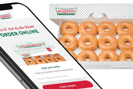 On-Demand Donut Deliveries : donut delivery service