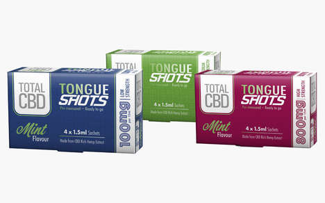 On-the-Go CBD Shots : Total CBD Tongue Shots