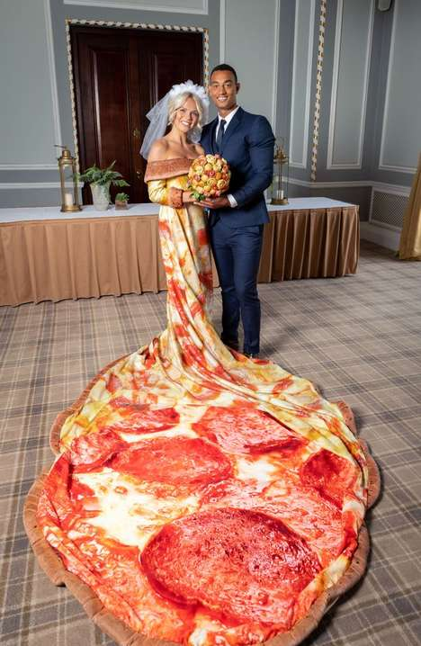 Pizza-Themed Bridal Packages : bridal packages