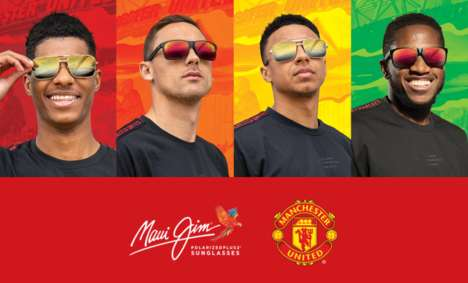 Premium Soccer-Themed Sunglasses : Club Collection