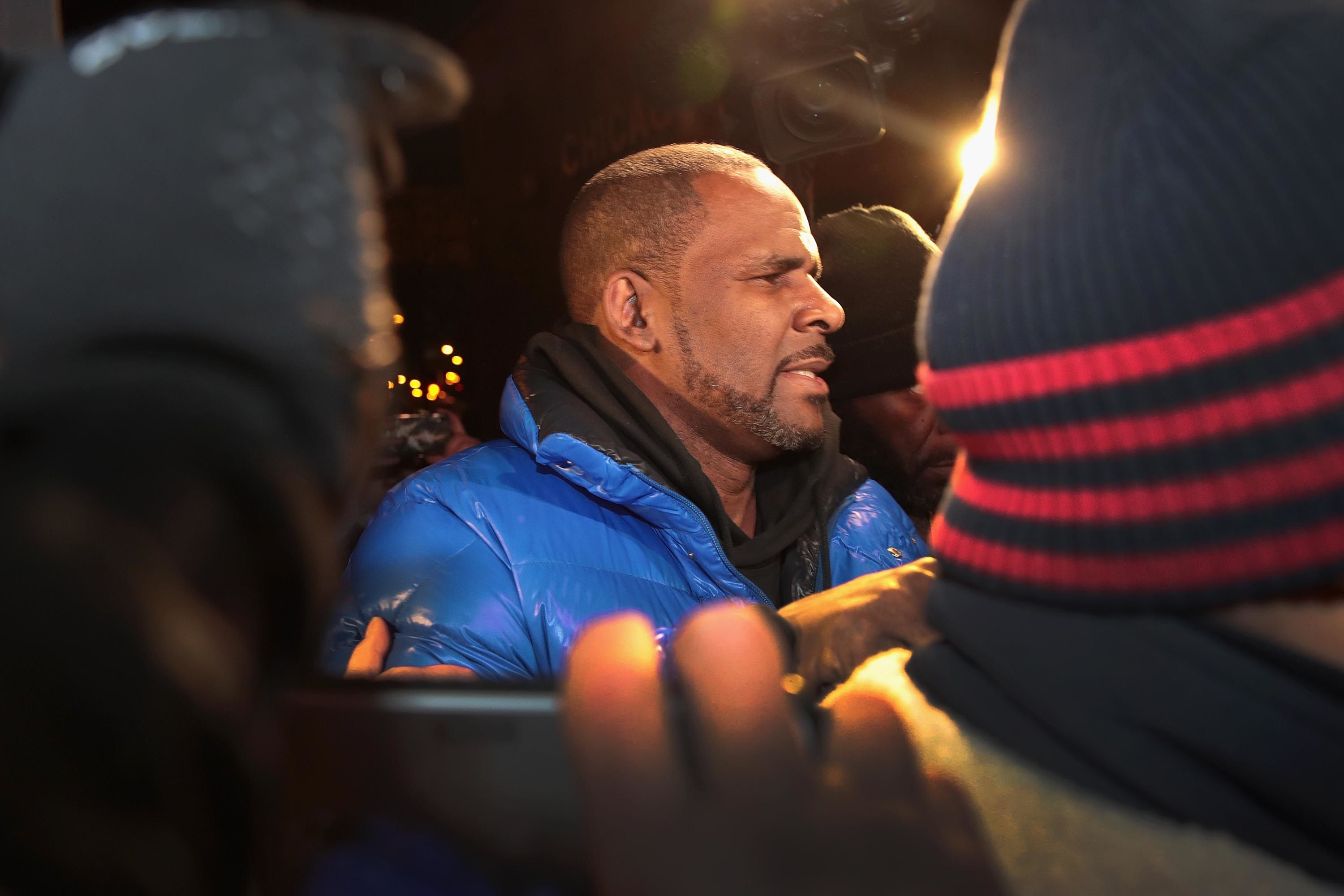 R. Kelly faces five counts for racketeering and child sex crimes