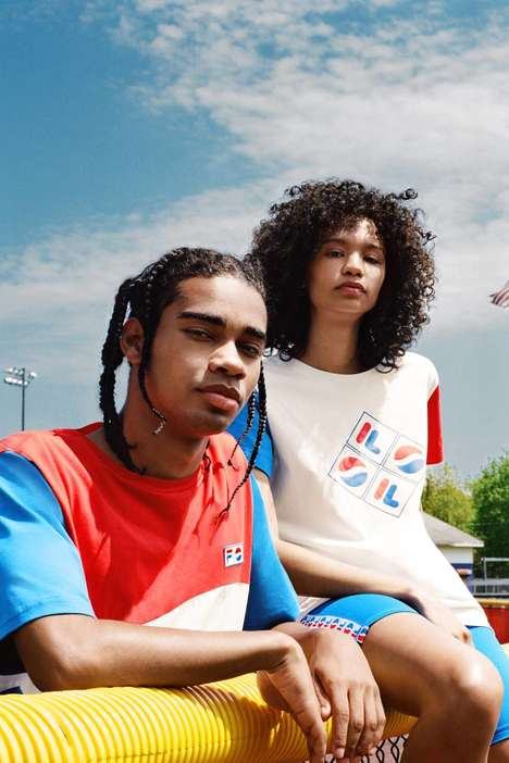 Retro-Style Fashion Collaborations : FILA x Pepsi