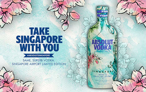 Singapore-Inspired Vodkas : Absolut Singapore