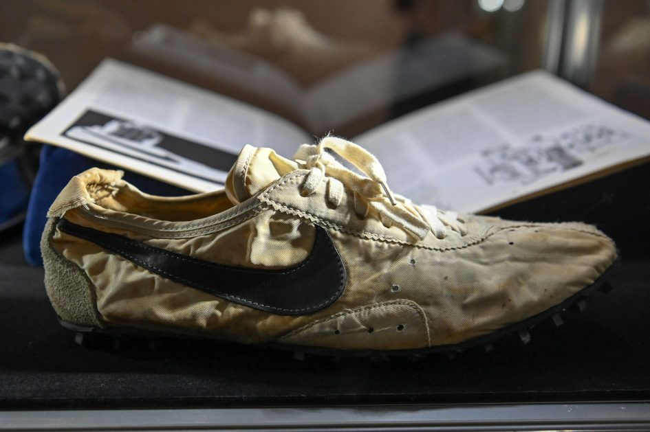 Sotheby's sells sneaker collection for $850K. Nike pair may fetch $160K